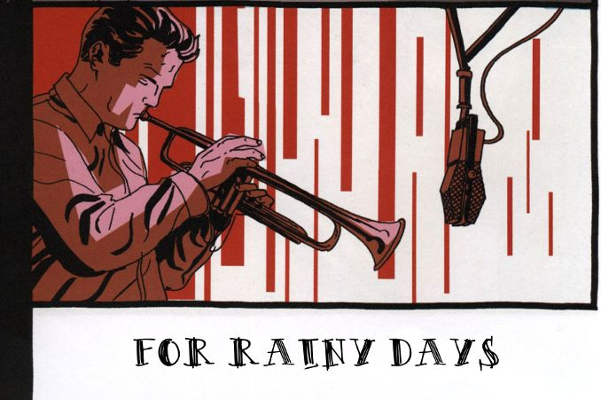 "Cover from ""Rainy Days"" compilation by Comic*mania"