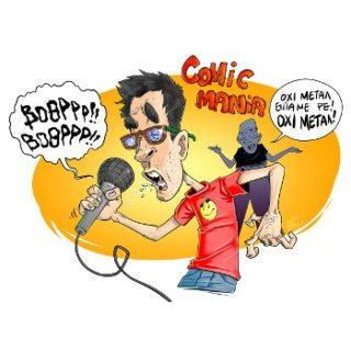 Stefadouros_sketch for Comic*mania